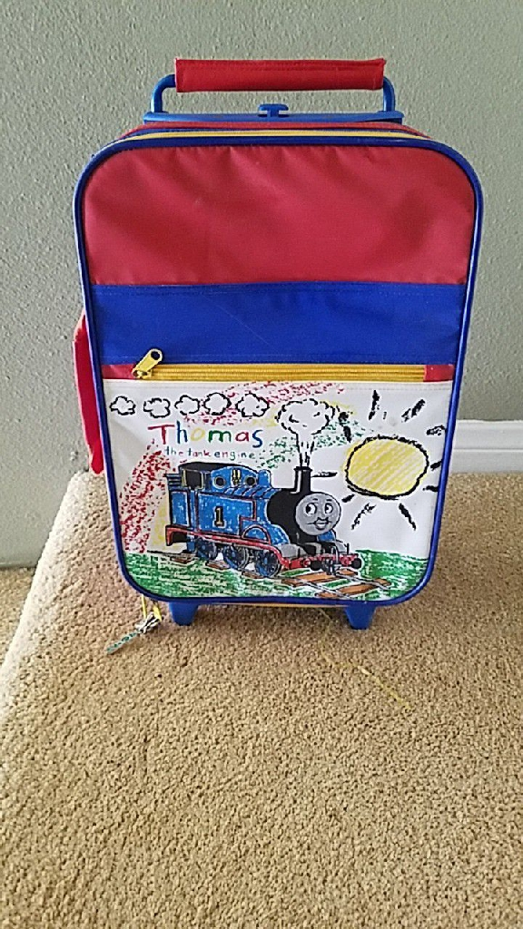 Thomas the tank engine suitcase