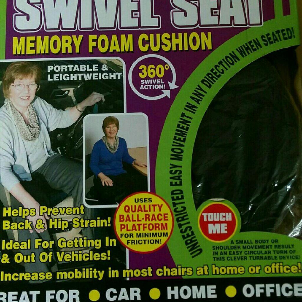 New memory foam cushion