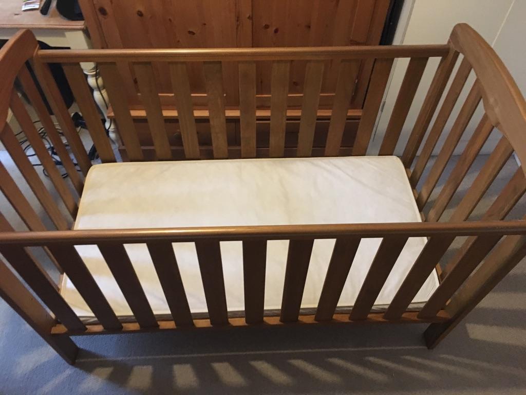 Cot bed and mattress 'Rachel' John Lewis