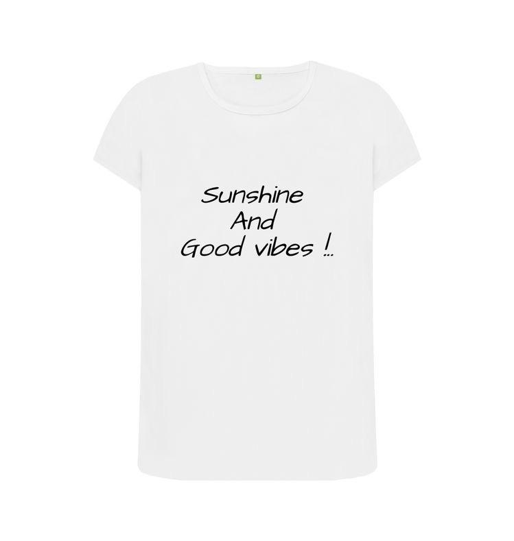 Sunshine and good vibes tee