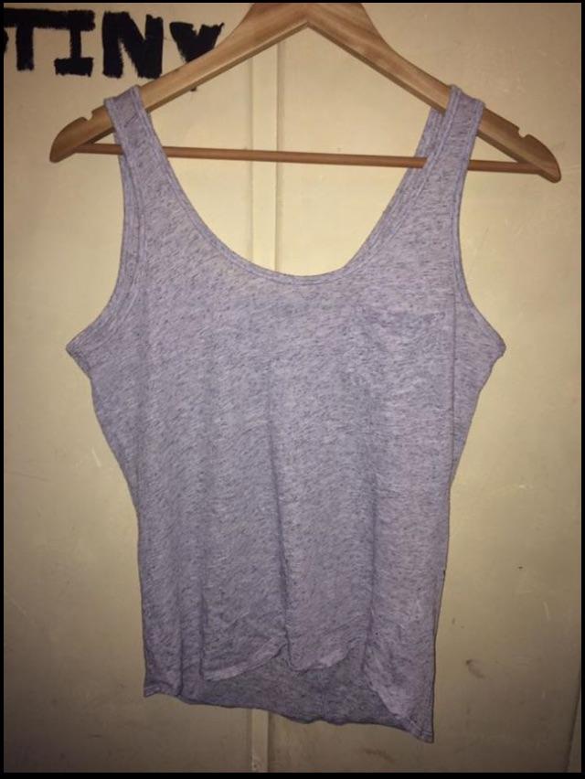 Grey Vest Top