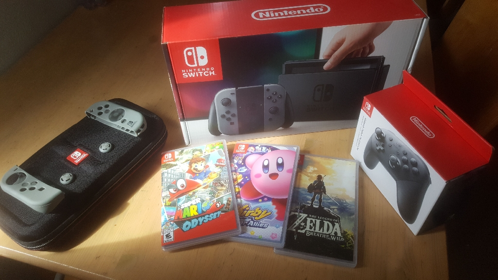 Nintendo switch Bundle!