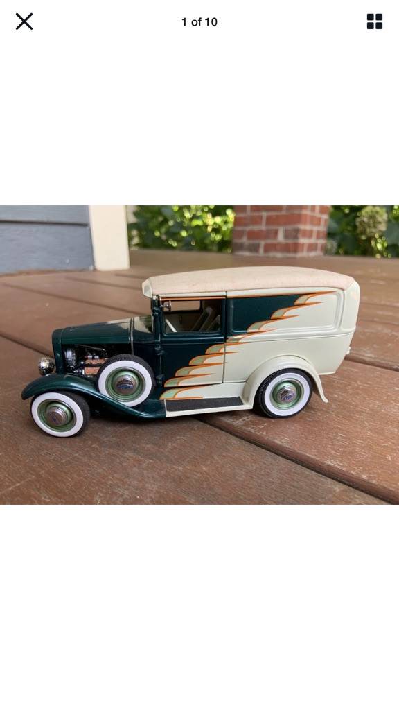 Danberry mint 1931 Ford model a hot rod