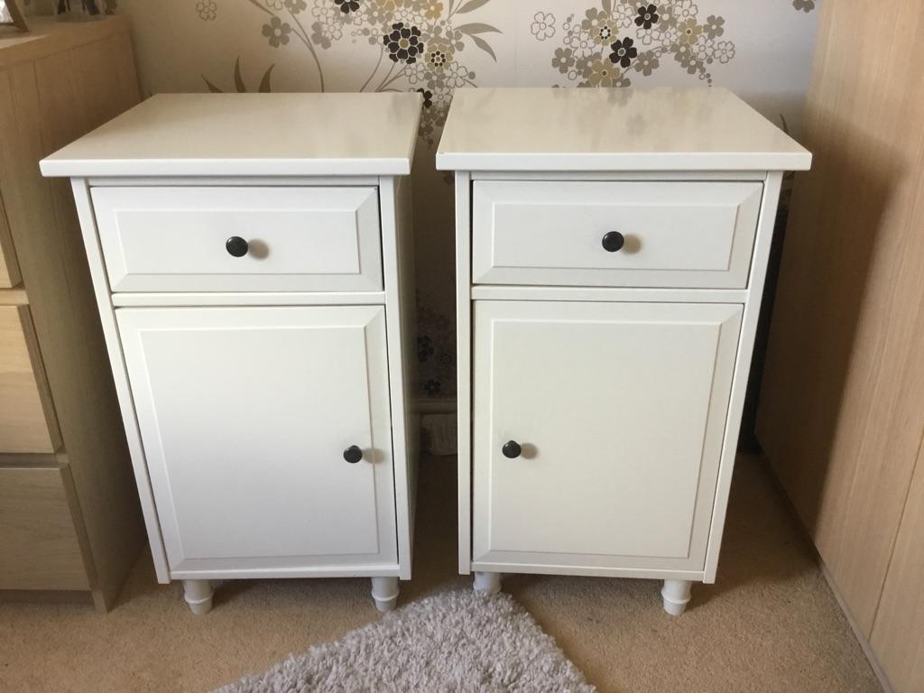 Bedside cabinet x 2
