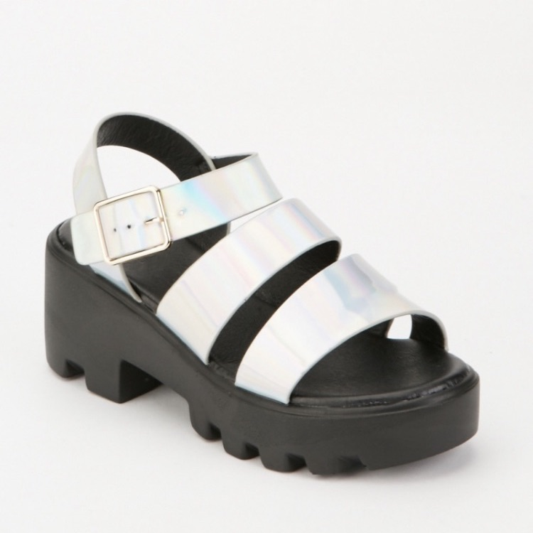 Holo sandals NEVER WORN OUTSIDE