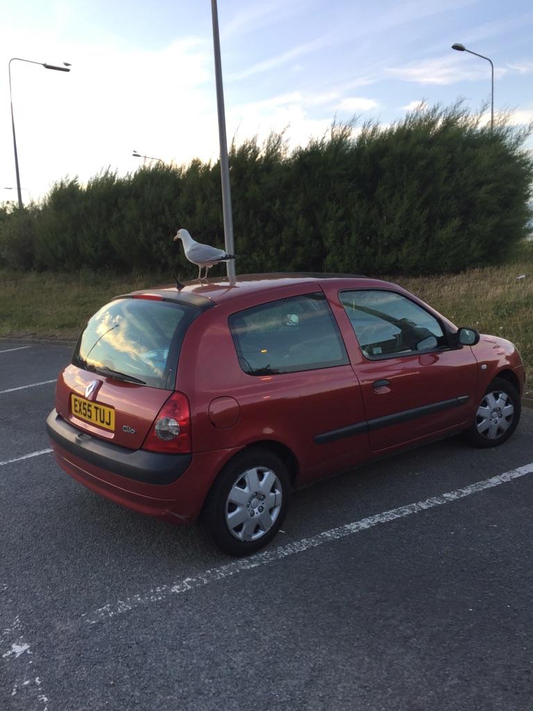 Red Renault Clio