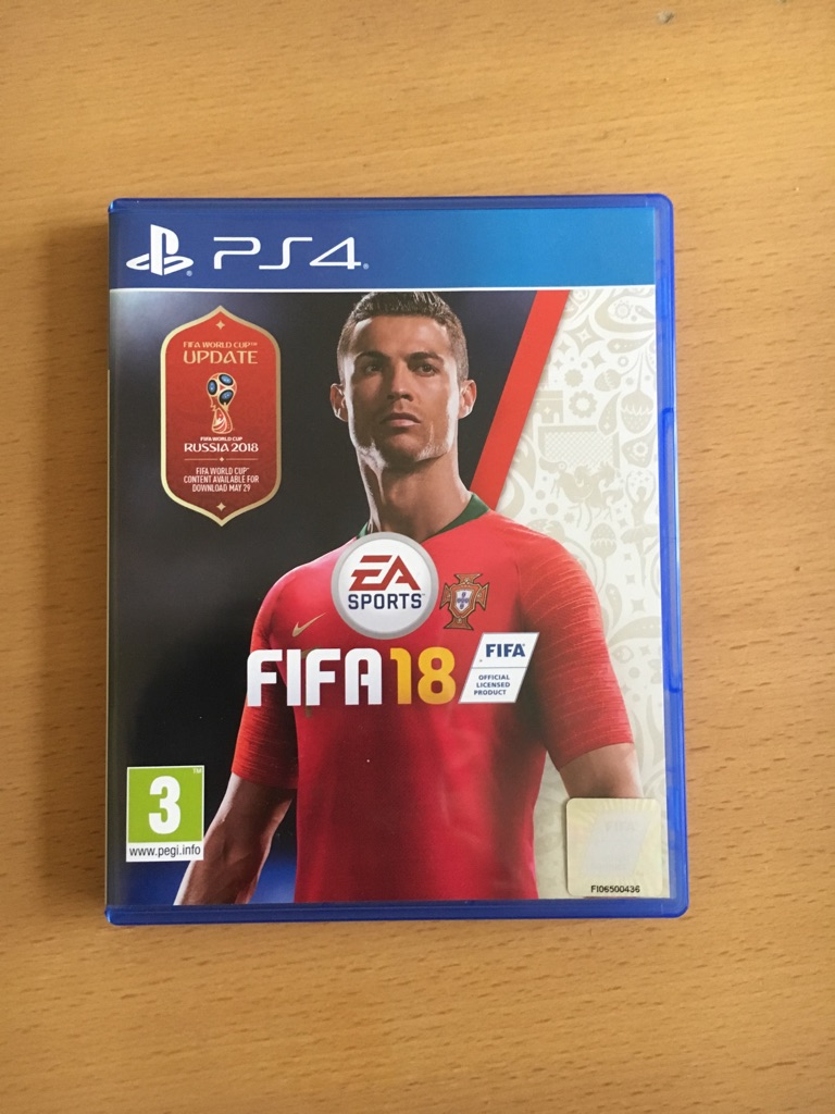 FIFA 18 for PS4