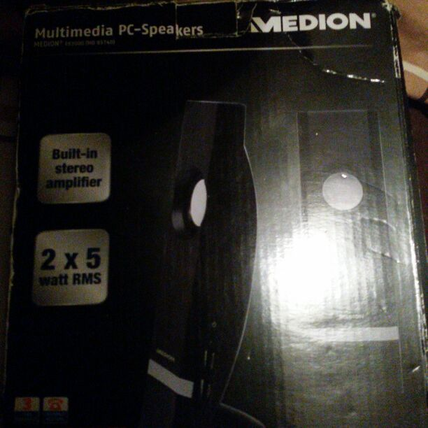 Medion PC speakers