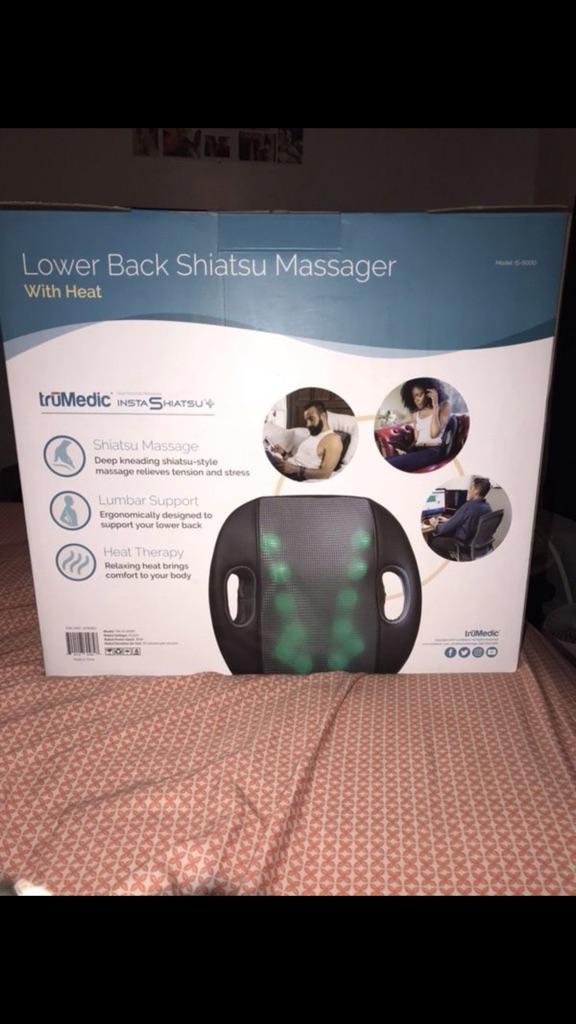 Lower back massager