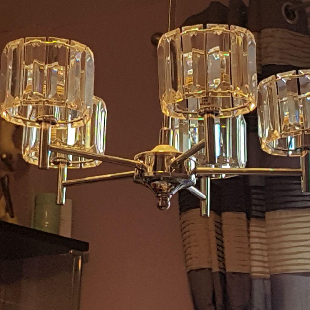 5 shade ceiling light