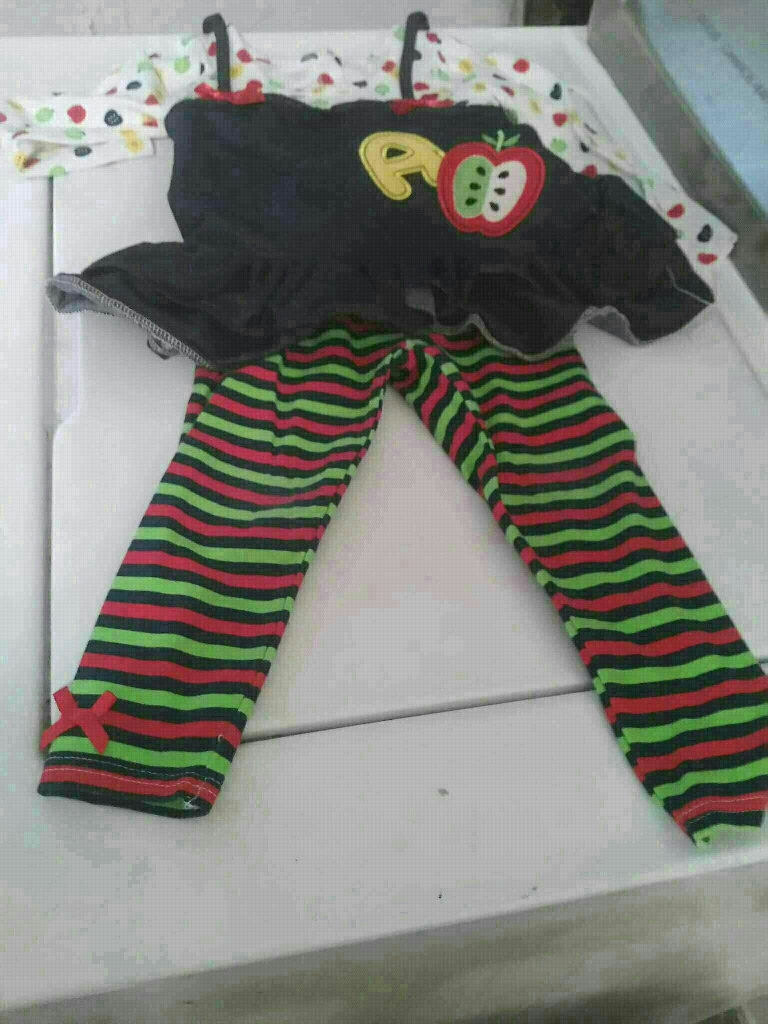 Toddler girl Nannette legging set