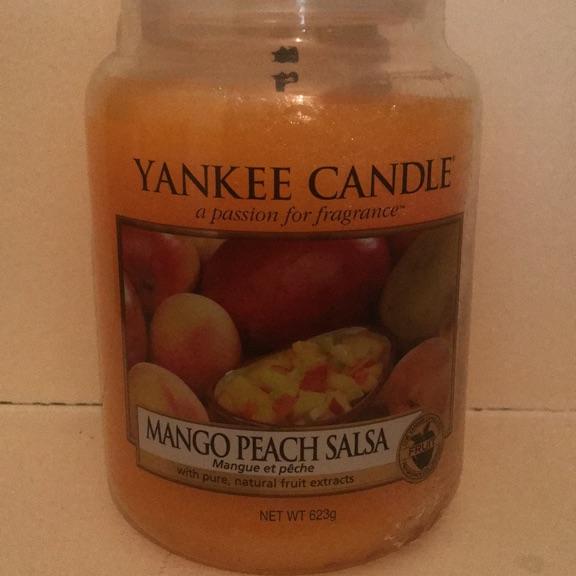 Large Yankee Candle - mango peach salsa