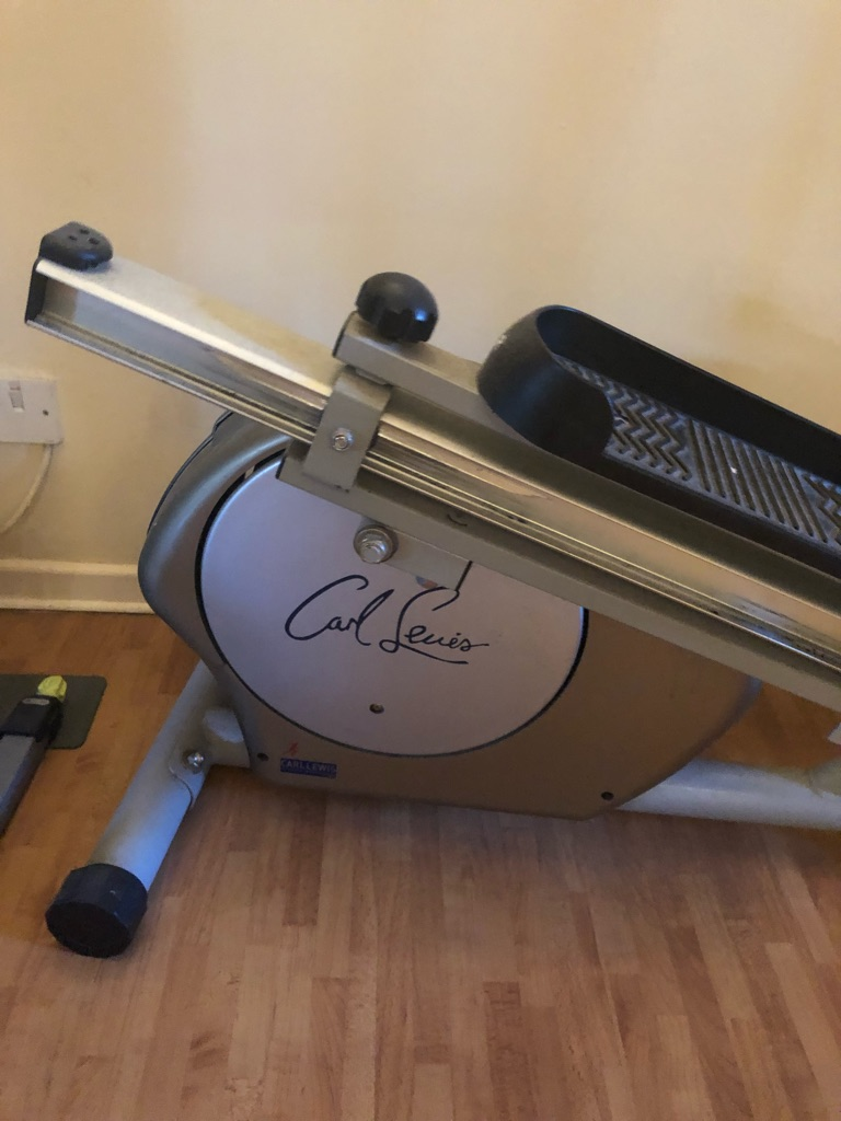 Carl Lewis Cross trainer and stepper