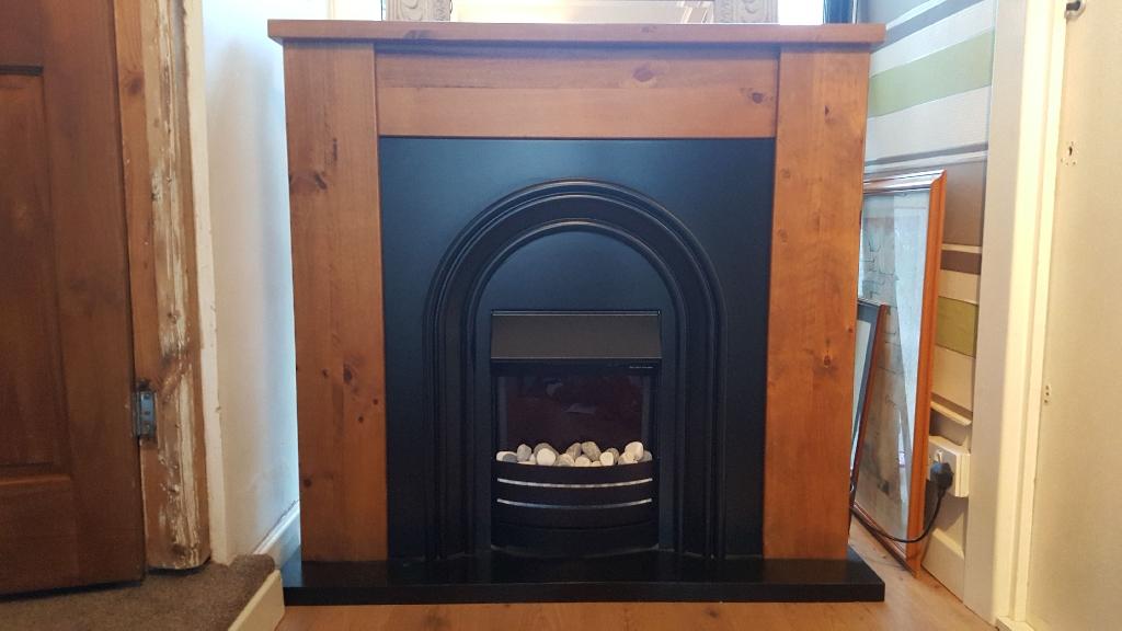 Next oak electric fireplace