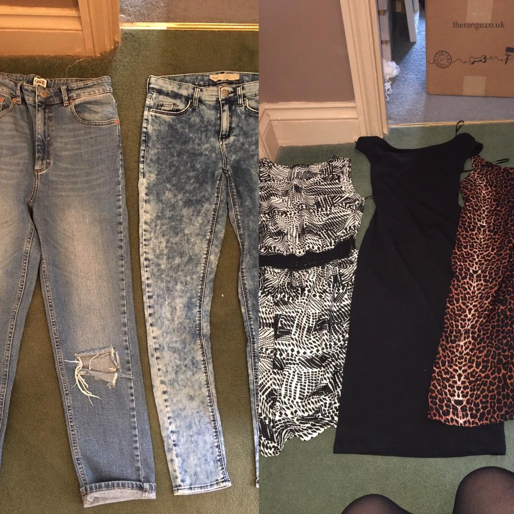 Bundle of women's clothes. Size 8 & 10