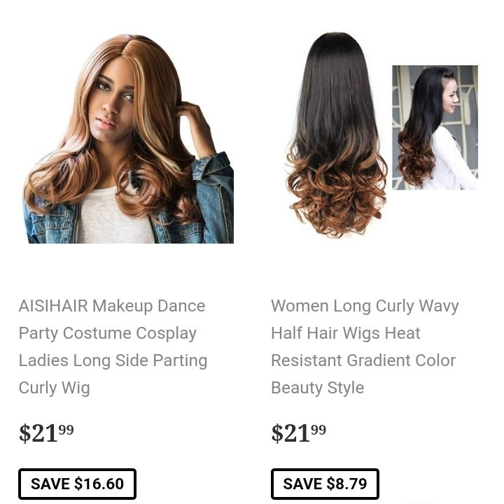 Luxury/premium wigs