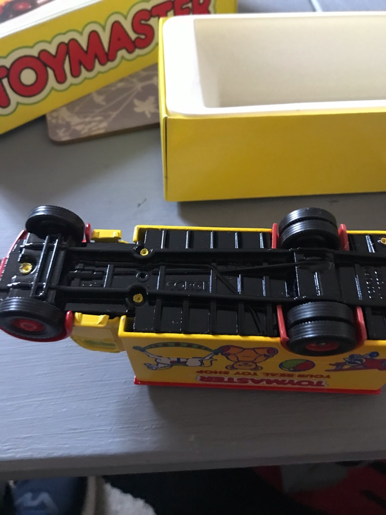 Toy master limited edition Bedford box van
