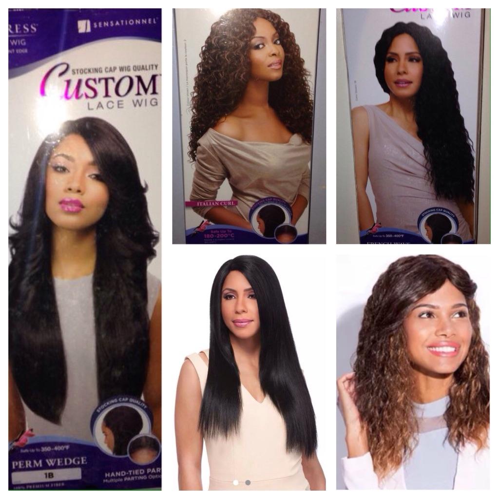 Sensationnel Empress Custom Lace Front Wig -Stocking Cap Quality