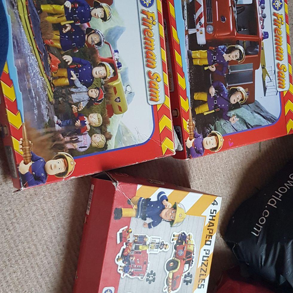 Fireman Sam jigsaws