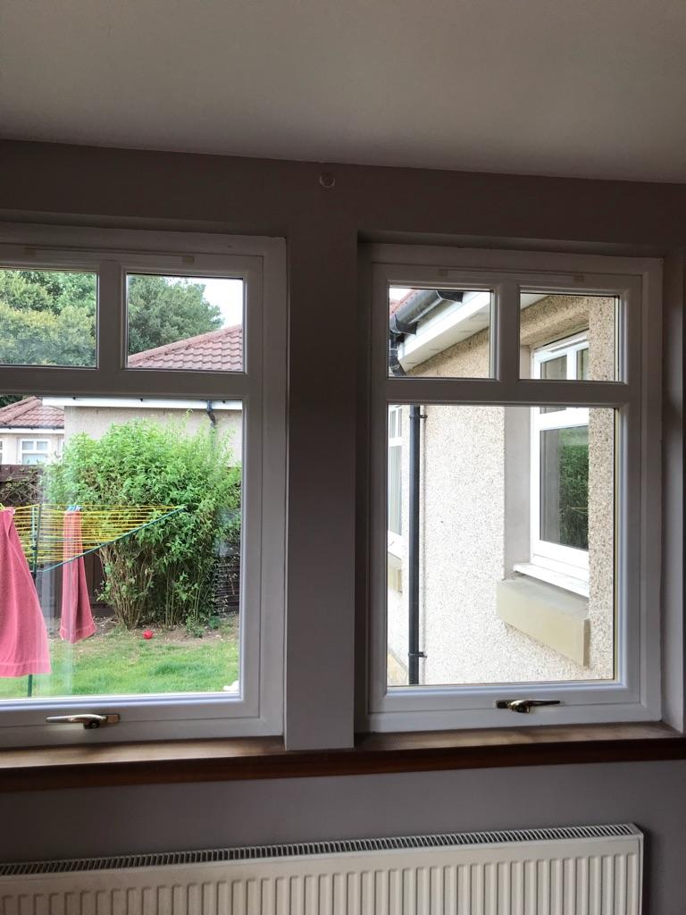 """Double Glazed Window, White, 53"""" x 35.5"""""""