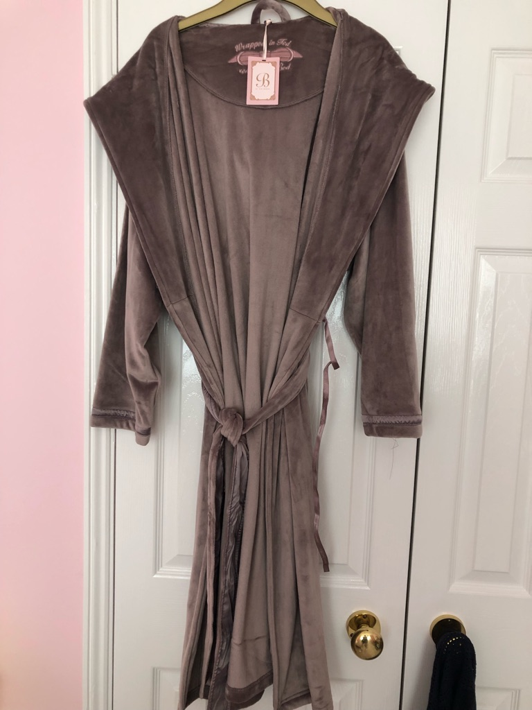 Women's Ted Baker Hooded Dressing Gown - Size 12-14 - New with tags