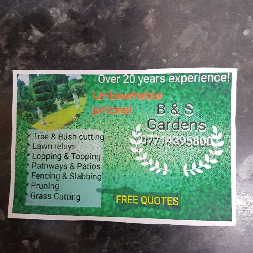 Gardener &landscaper