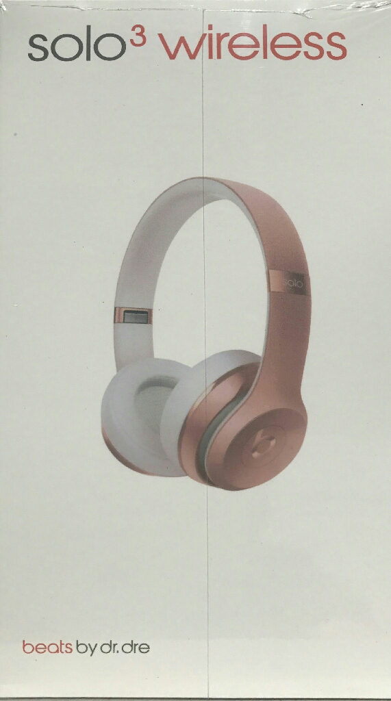Rose Gold Beats by Dre Solo3 Headphones