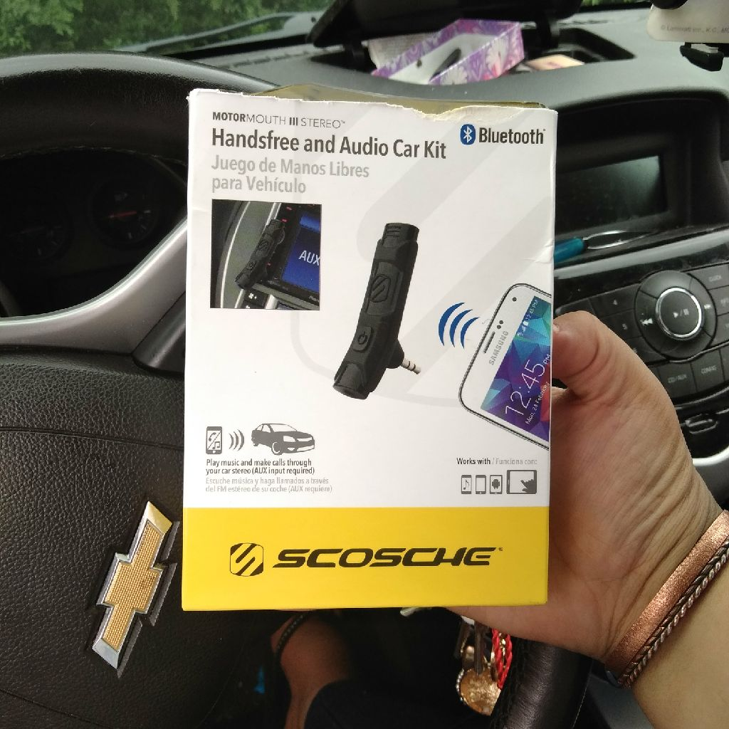 Handsfree And Audio Car Kit