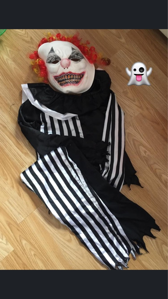 Halloween clown costume  SOLD