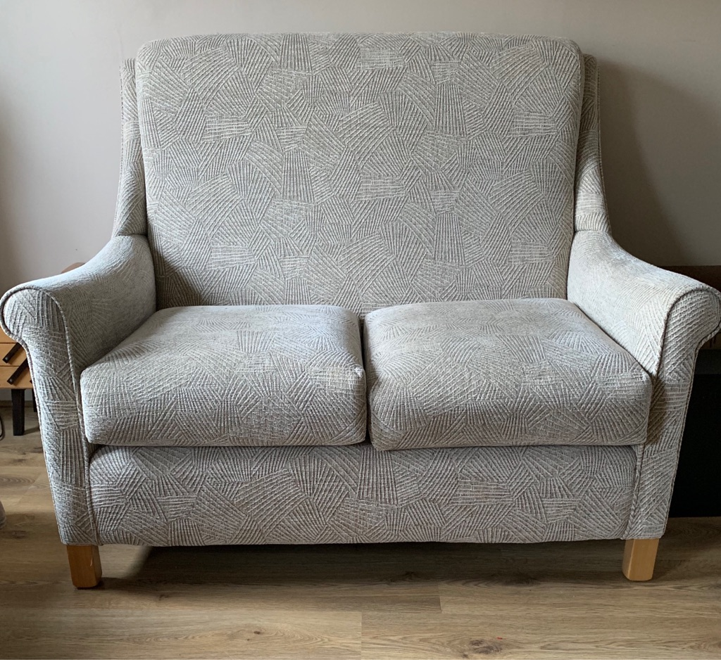Jaycee small two seater sofa