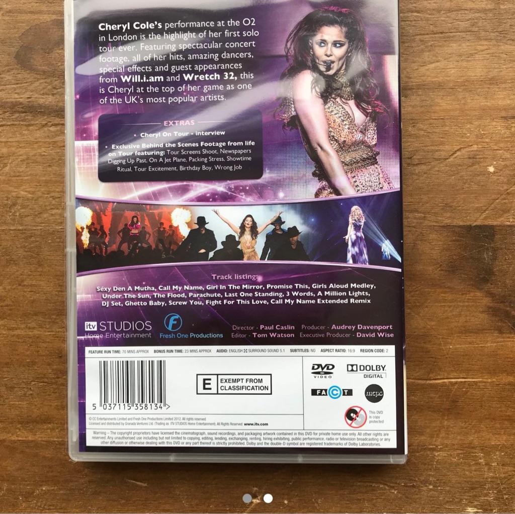Cheryl A Million Lights Tour DVD