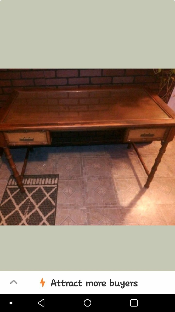 Mid century mersman writing desk