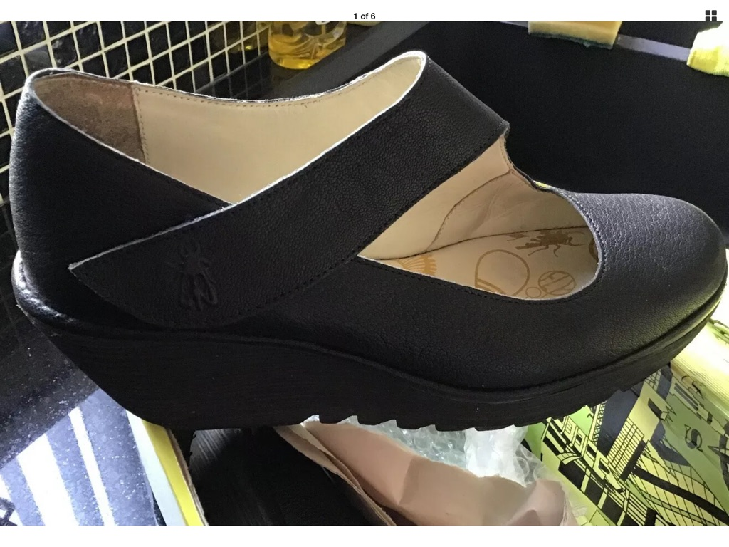 Fly London wedge shoes 40/6.5