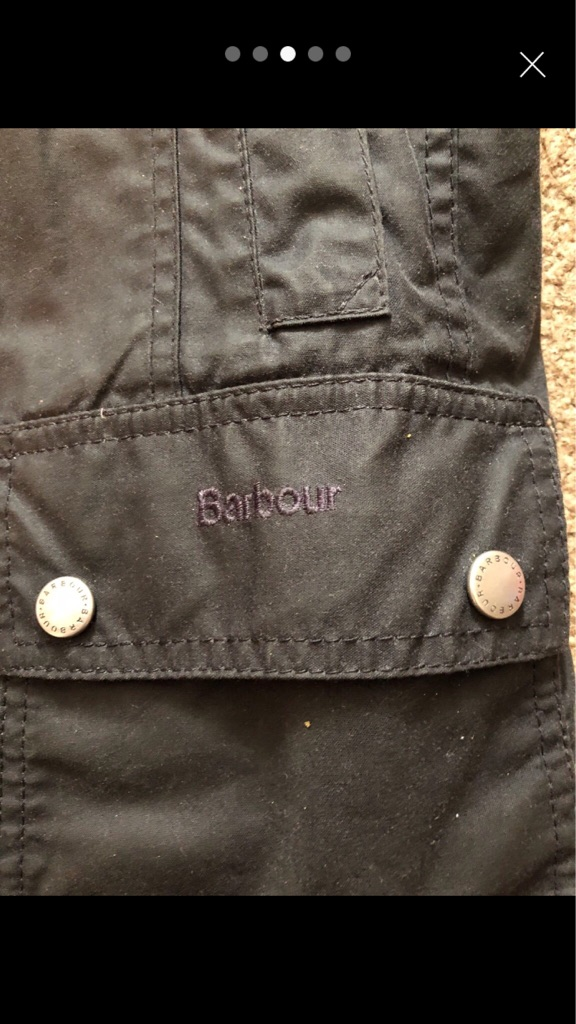 Barbour coat  girls