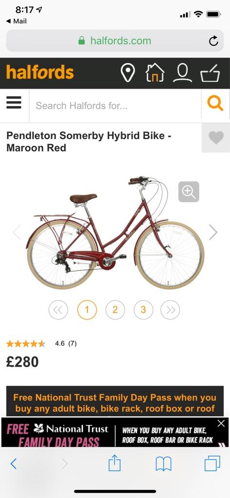 Hybrid women's bike