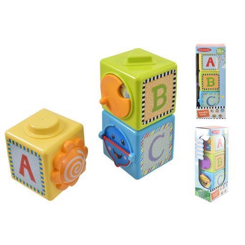 Educational stacking blocks