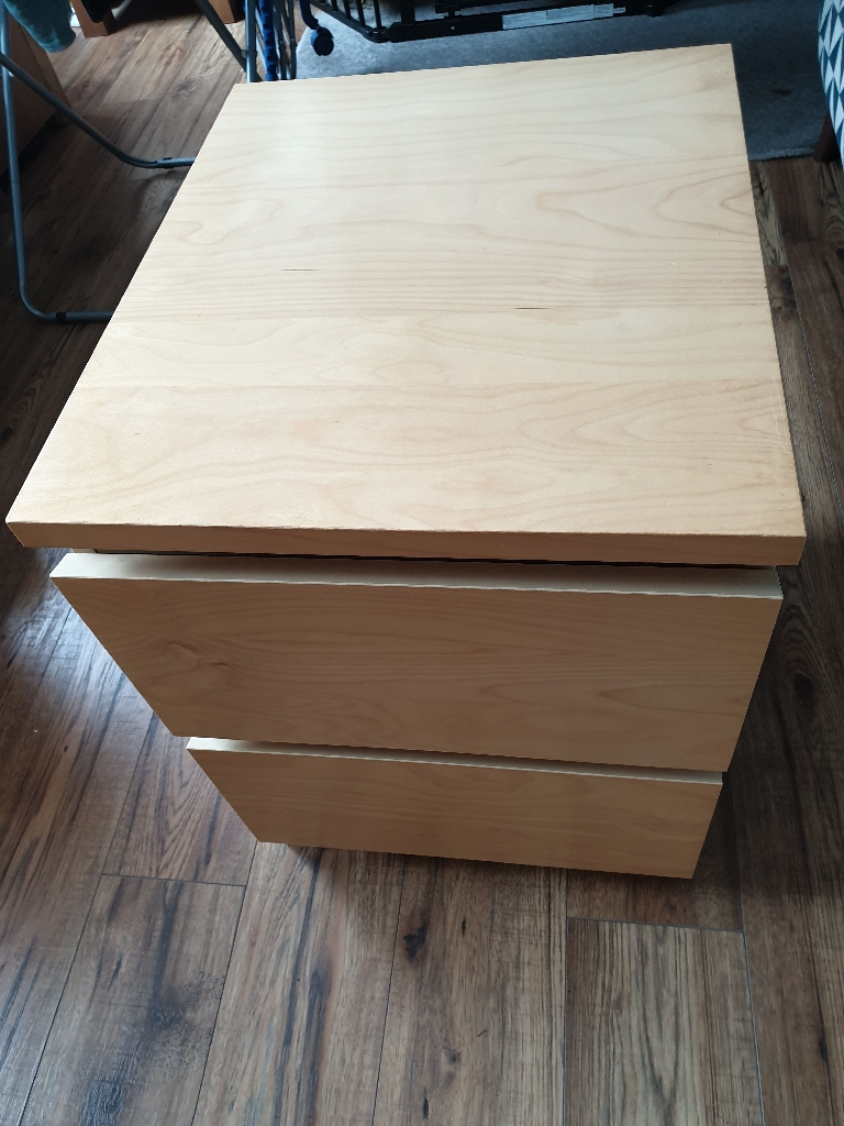 Set of Ikea Malm drawers