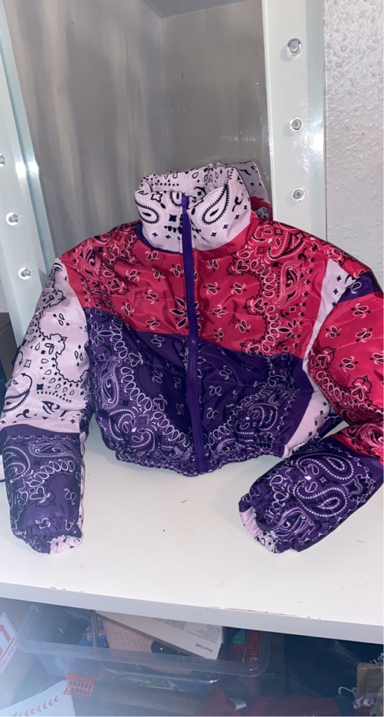 Bandana crop jacket