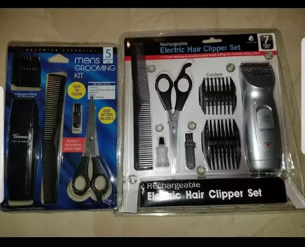 Mens Hair Grooming Set