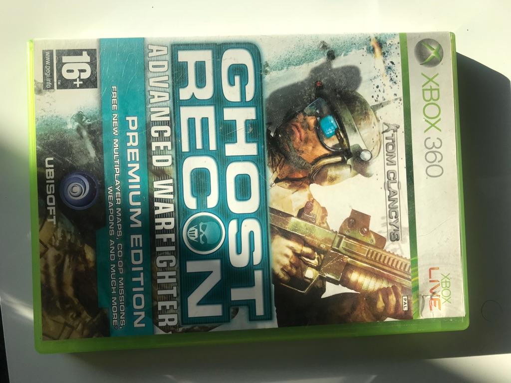 Ghost recon advanced war fighter premium edition Xbox 360 game