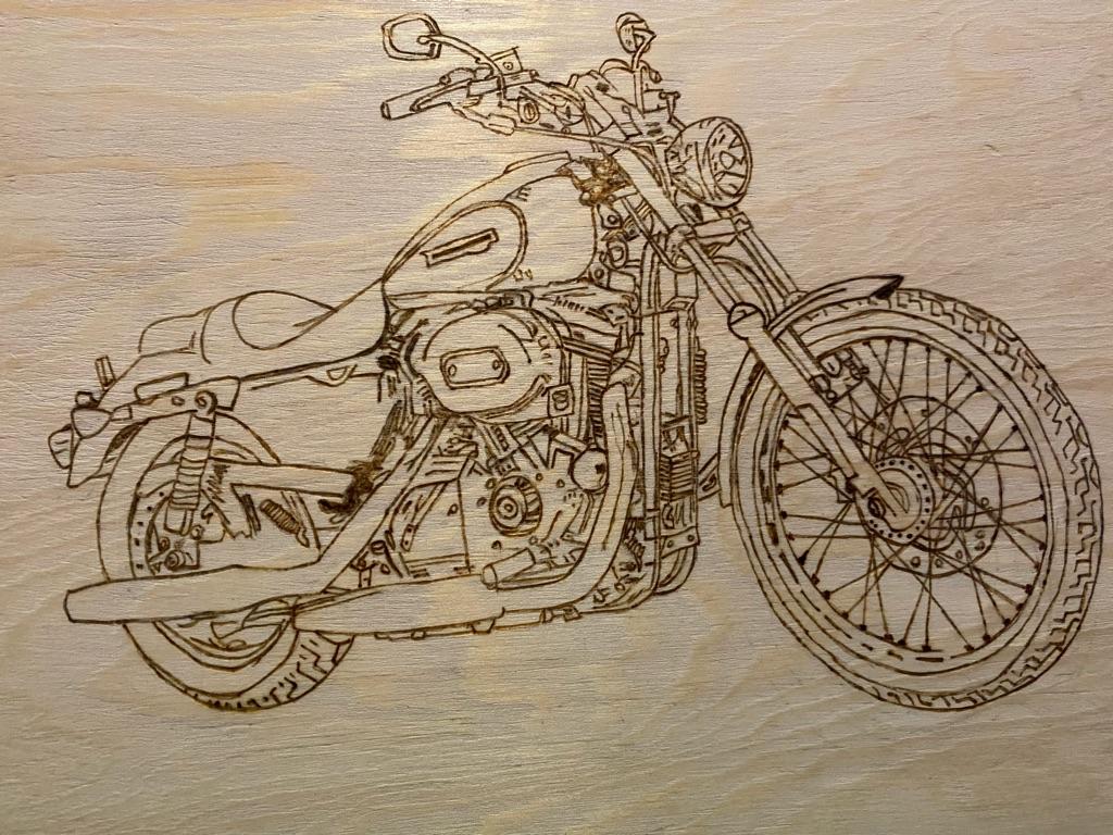Handmade Wood Burnt Art  (Pyrography).