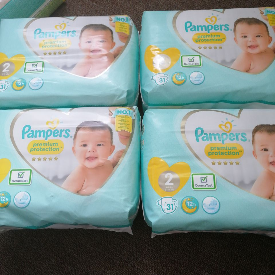 Pampers size 2&3