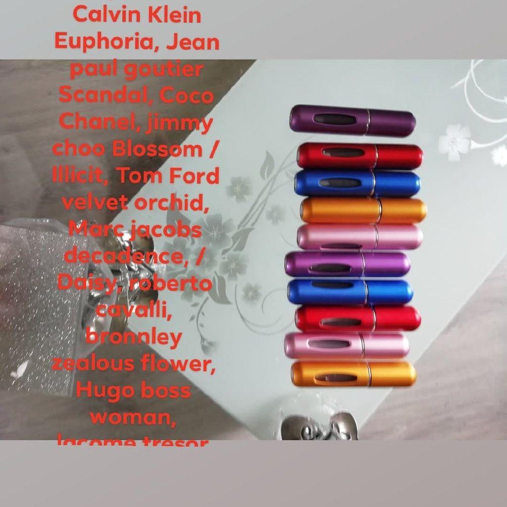 New perfume pods