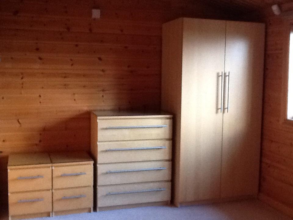 IKEA wardrobe and 3 draws