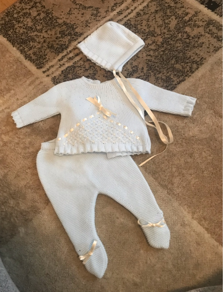 Spanish baby outfit