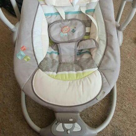 Ingenuity 2 in 1 baby swing