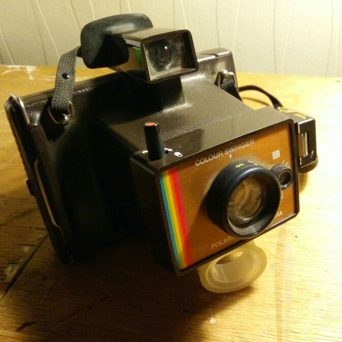 Retro Polaroid camera. Got two models. Each £15 ir both for £20 quid