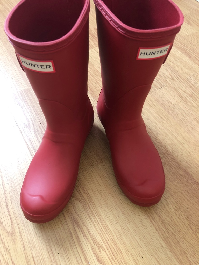 Genuine hunter wellies size 4