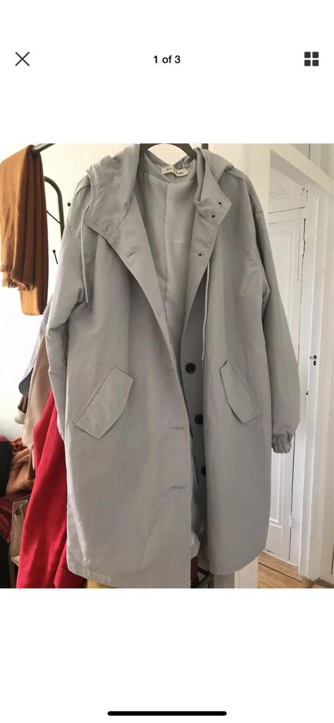 New hooded raincoat
