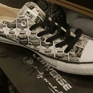Converse andy wohrol size 5